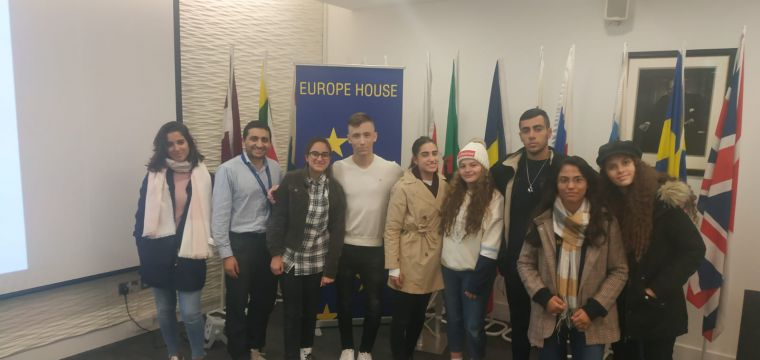 Debate for Peace Delegation to Oxford MUN, Ecuador and Kosovo embassies; interfaith meetings