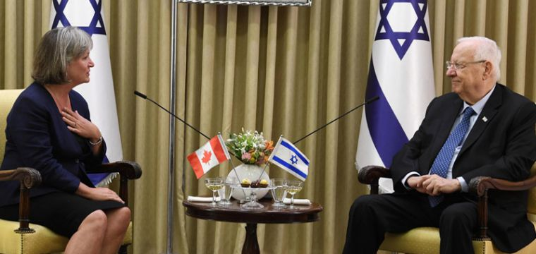 .President Rivlin received diplomatic credentials from the incoming ambassadors of Chile, Canada and Nigeria