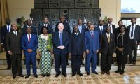 .President Rivlin met ambassadors from African countries to the State of Israel