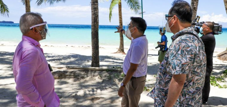 ".BORACAY reopens, heralds ""safe, gradual"" revival of Philippine tourism"