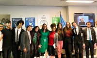 Debate for Peace students compete at YMUN, present at the UN, visit USUN, EUUN, and Cypriot Mission