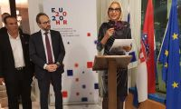 "Embassy of Croatia in Israel celebrates the ""28th anniversary of the independence and the launch of the Croatian Presidency of the Council of the European Union"""