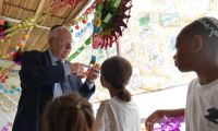 President Rivlin today decorated his Sukkah and invited to come and visit during the Open Sukkah event in intermediate days of Sukkot