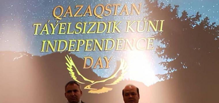 Kazakhstan's 28th Independence Day Celebration in Tel Aviv, Israel