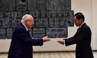 New ambassadors from Vietnam, Nepal, Kenya and Montenegro presented their credentials to President Reuven (Ruvi) Rivlin