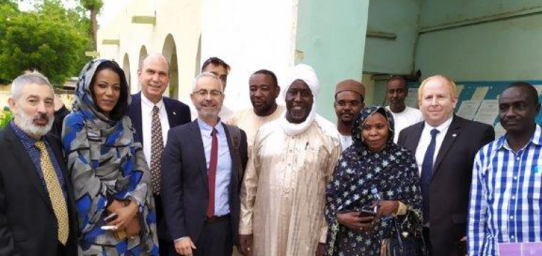 .Israeli Government Economic Delegation Visits Chad