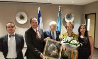 Guatemalan Ambassador Honors the Jerusalem Consul